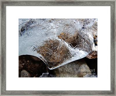 Ice Framed Print by Fabian Roessler