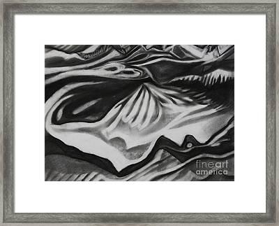 Ice Pyramid Framed Print
