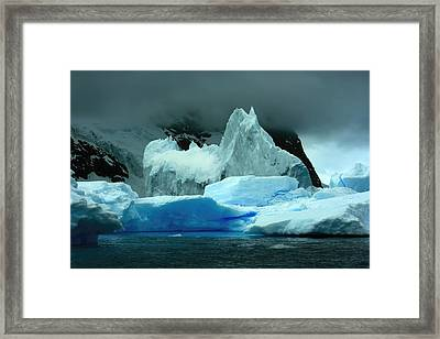 Framed Print featuring the photograph Iceberg by Amanda Stadther