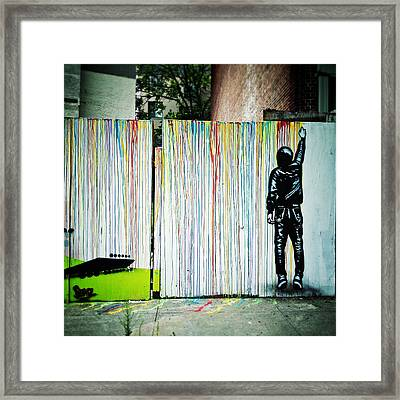 Icy And Sot Framed Print by Natasha Marco