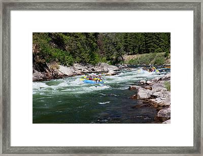 Idaho, Near Stanley, Salmon River Framed Print by Jamie and Judy Wild