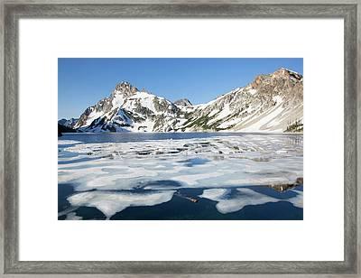 Idaho, Sawtooth Wilderness, Sawtooth Framed Print