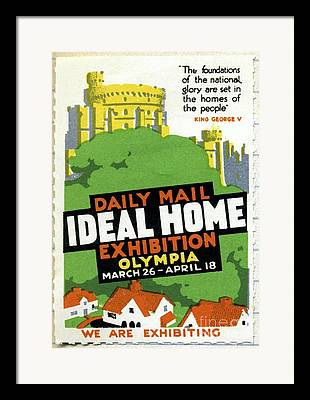 Ideal Home Exhibition Framed Prints