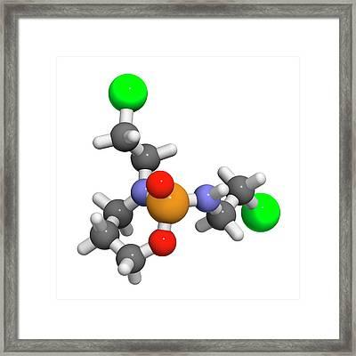 Ifosfamide Cancer Chemotherapy Drug Framed Print