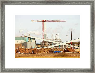 Iggesund Paper Board Plant Framed Print by Ashley Cooper