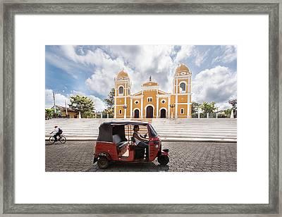 Iglesia Parroquial One Framed Print by Josh Whalen