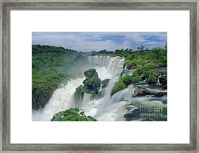 Iguazu Falls Argentina Framed Print