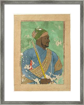Ikhlas Khan Framed Print by British Library
