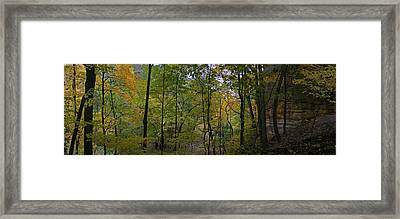 Illinois Canyon Framed Print by Gary Lobdell