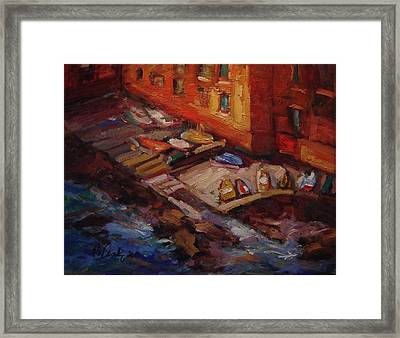 Imbarcadero Framed Print by R W Goetting