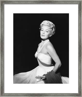 Imitation Of Life, Lana Turner, 1959 Framed Print by Everett