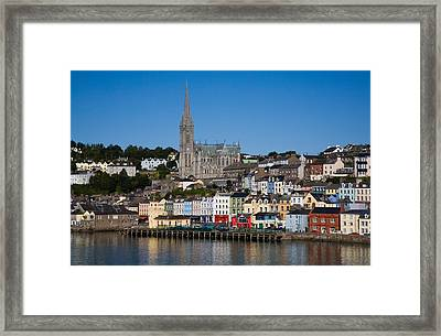 Immigrant Embarkation Harbour, Terraced Framed Print
