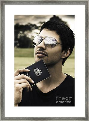 Immigration And Citizenship Framed Print by Jorgo Photography - Wall Art Gallery