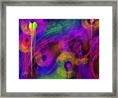 1 In 7 Framed Print by Billie Jo Ellis