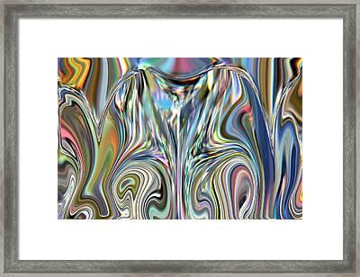 In A Fashion  Framed Print