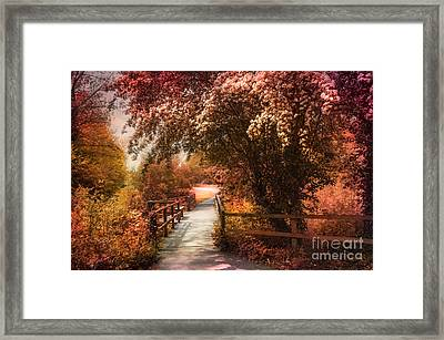 In A Park Framed Print by Svetlana Sewell