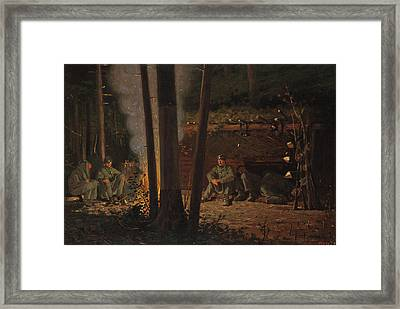 In Front Of Yorktown Framed Print by Celestial Images