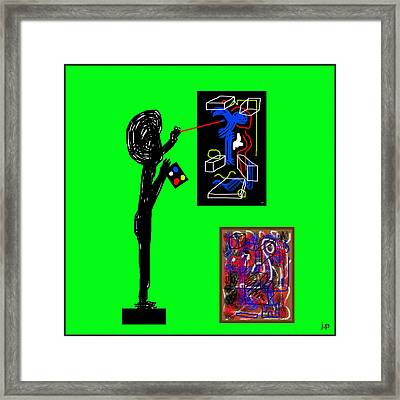 In His Elements Framed Print by Sir Josef - Social Critic - ART