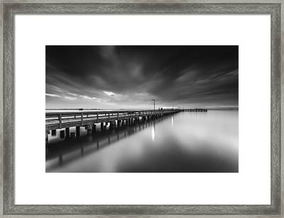 In Motion Framed Print by Edward Kreis