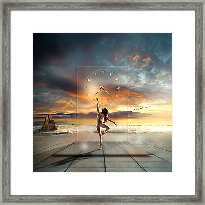 In My Dreams ... Framed Print