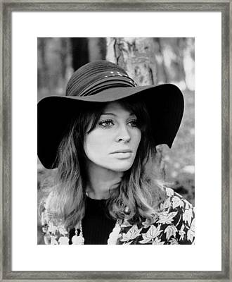 In Search Of Gregory, Julie Christie Framed Print by Everett