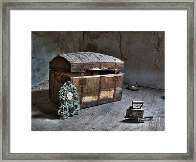 In The Attic Framed Print by Sinisa Botas