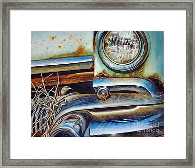 In The Beaten Path Framed Print by Greg and Linda Halom