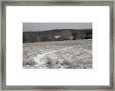 In The Bleak Mid-winter Framed Print by John Stephens