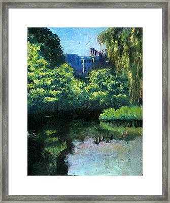 In The Fens Framed Print by David Zimmerman