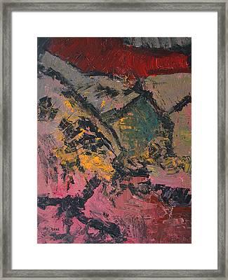 In The Field Framed Print by Oscar Penalber