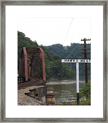 In The Gorge Framed Print by Bryan Wulf