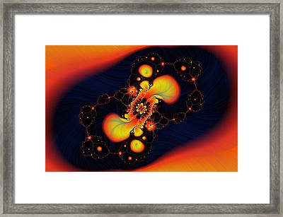 In The Other World Framed Print