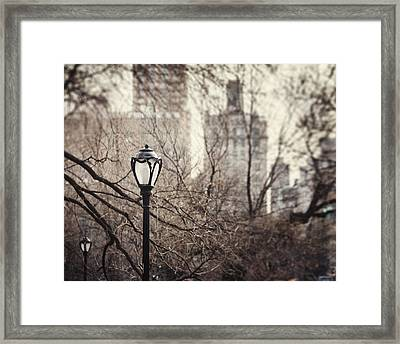 In The Shadow Of The Upper East Side  Framed Print by Lisa Russo