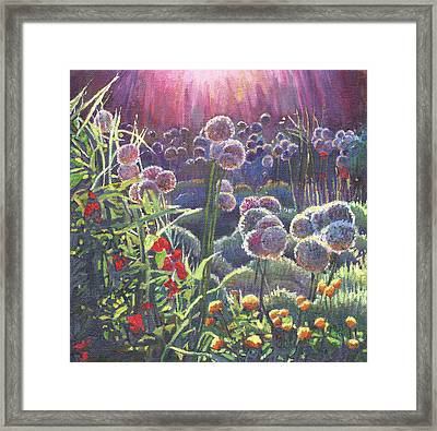 Incandescence Framed Print by Helen White