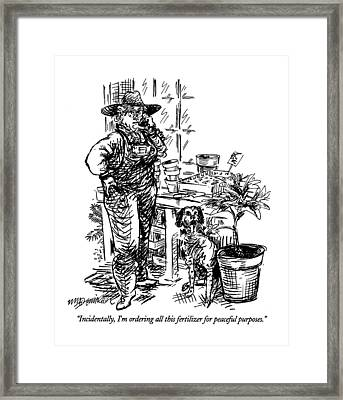 Incidentally Framed Print by William Hamilto