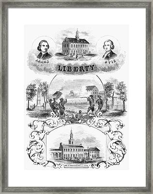 Independence Day Framed Print