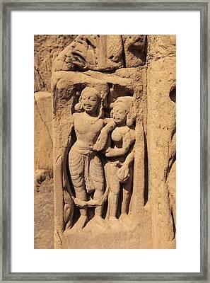 India, Himachal Pradesh, Kangra Framed Print