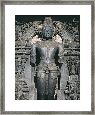 India. Konarak. Sun Temple. Built Framed Print by Everett
