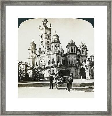 India Laxmi Vilas Palace Framed Print by Granger