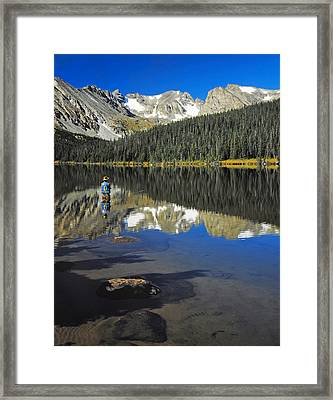 Indian Peaks Wilderness Area, Colorado Framed Print