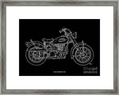 Indian Warrior Tt 1950 Framed Print