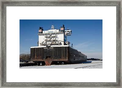 Indiana Harbor 4 Framed Print
