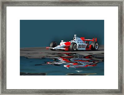 Indy Reflection Framed Print