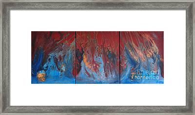 Inferno Series Framed Print