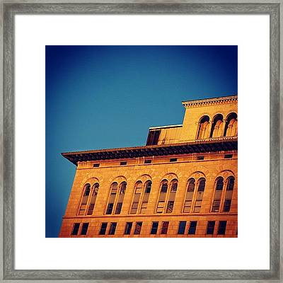 Ingraham Bldg. - Miami ( 1926 ) Framed Print