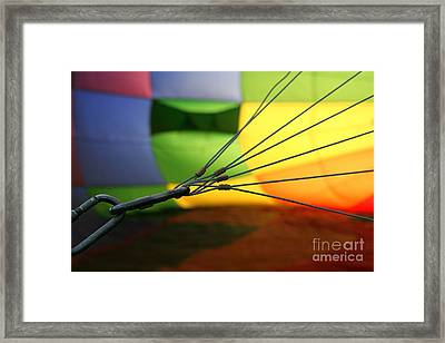 Inner Workings Framed Print by Jennifer Mecca