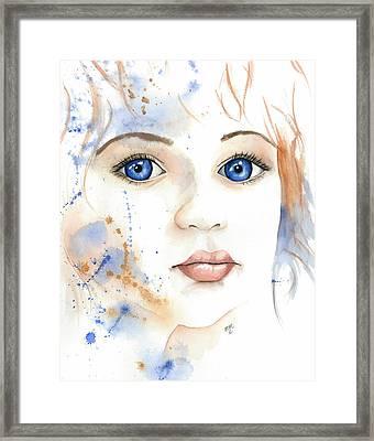 Light Of The Heart Framed Print