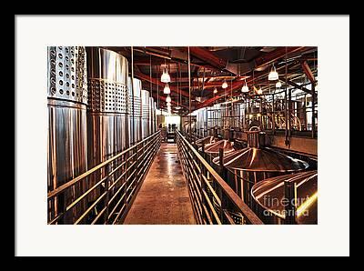 Winetasting Framed Prints