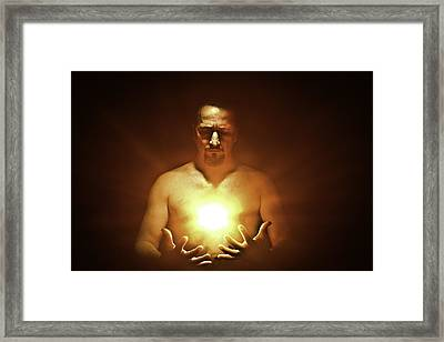 Inspiration Framed Print by Mark Rodriguez aka Godriguez