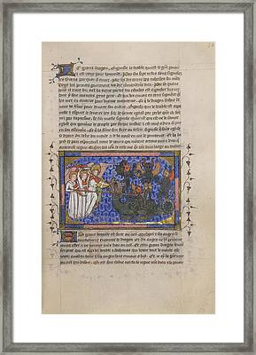 Instruments Of The Passion Framed Print by British Library